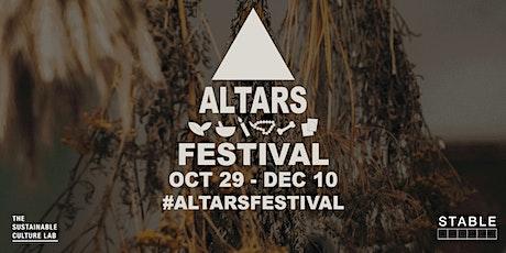 2021 Altars Festival Opening Reception tickets