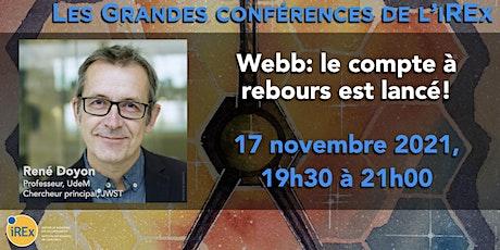 La grande conférence de l'iREx 2021 billets