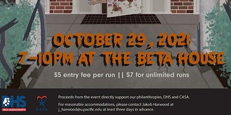 Haunted House @ Beta house tickets
