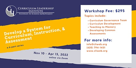 Systems for Curriculum, Instruction, & Assessment tickets
