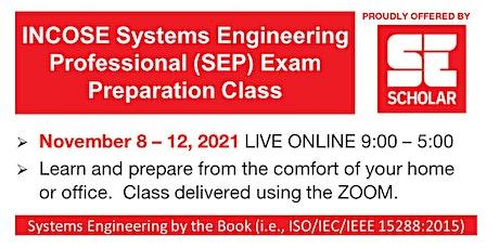 SE Scholar INCOSE SEP Exam Preparation Course tickets