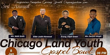 3rd Annual Chicago Land Youth Gospel Bowl 2022 tickets