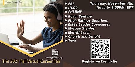 NYBLACKMBA Fall Virtual Career Fair tickets