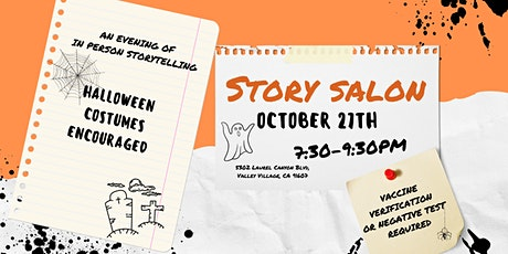 Story Salon: An Evening of In Person Story Telling tickets