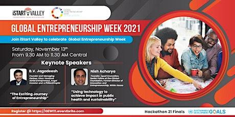 Global Entrepreneurship Week 2021 tickets
