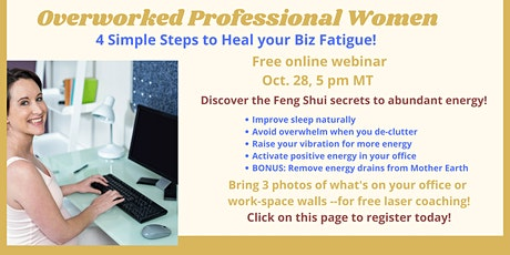 4 Simple Steps to Heal Your Biz Fatigue tickets