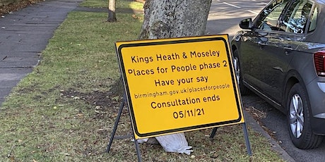 Public Meeting on 'Kings Heath and Moseley Places for People' tickets