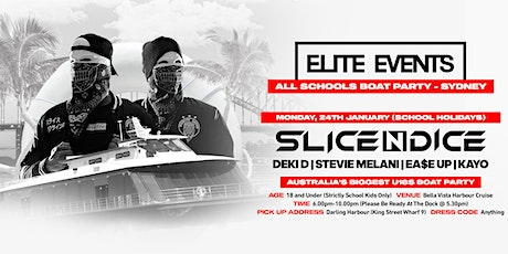 All Schools U18s Boat Party 2022 ft. Slice N Dice - Sydney tickets