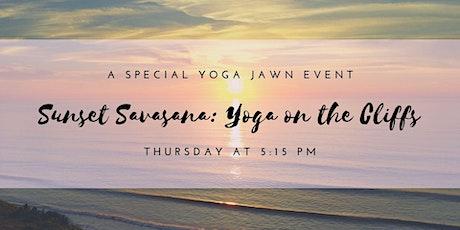 Sunset Savasana: Yoga on the Cliffs tickets