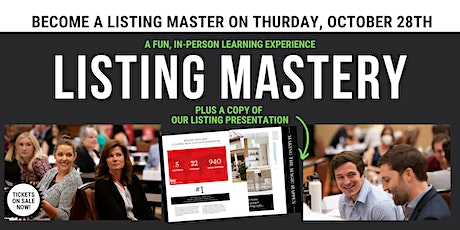 Listing Mastery LIVE Event & Accelerated Certification Program tickets