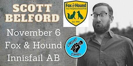 Longshot Comedy Presents Scott Belford @ The Fox & Hound Innisfail tickets