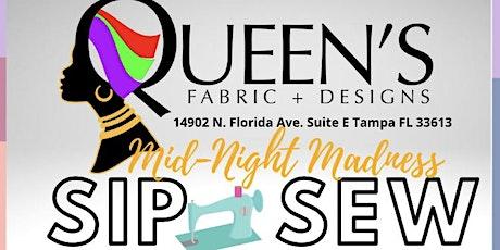Mid - Night Madness Sip & Sew tickets