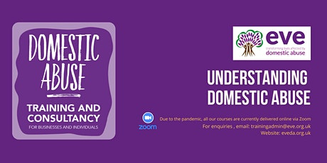 Understanding Domestic Abuse Training tickets