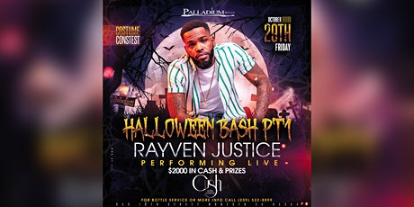 Halloween Bash part 1 with RAYVEN JUSTICE performing live! tickets