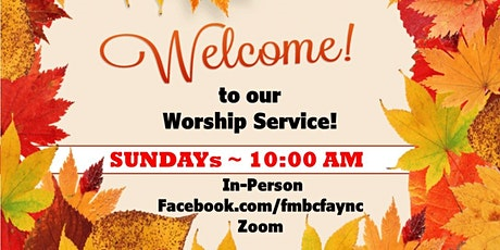 Friendship MBC In-Person Church Services tickets
