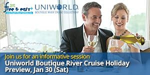 Uniworld Boutique River Cruise Holiday Preview (30 Jan...