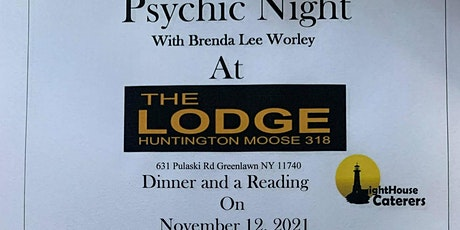 Psychic  Night Dinner and a Reading tickets