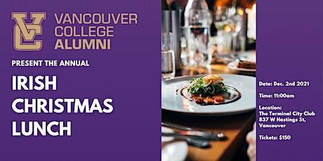 Vancouver College Alumni & Friends Irish Christmas Luncheon tickets