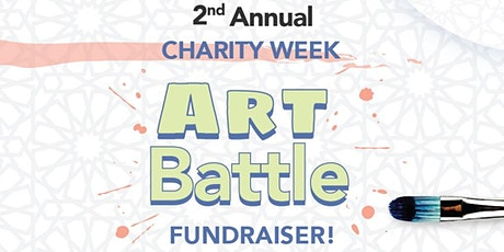 Charity Week ART BATTLE FUNDRAISER tickets