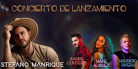 """Concierto de lanzamiento """"Country Pop Latino"""" - Stefano Manrique entradas"""