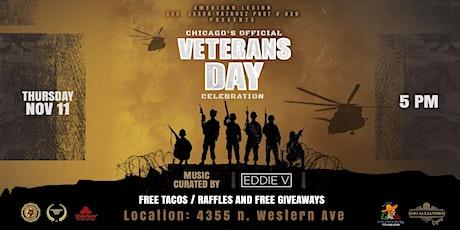 SSG Jason Vazquez Post 939 presents Chicago's official Veterans Day Party tickets