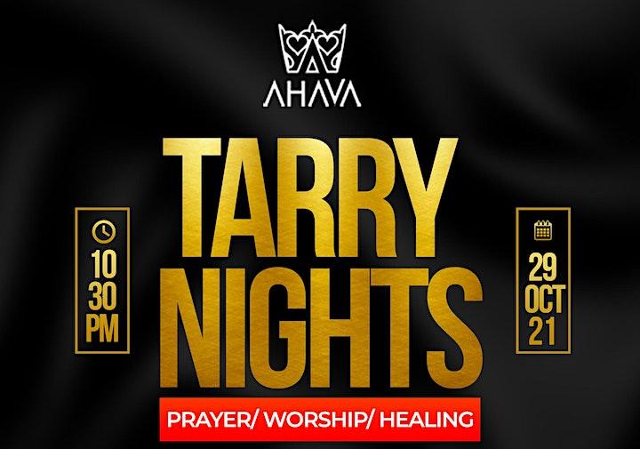 Ahava Experience Tarry Night Worship & Prayer Vigil LONDON EDITION image