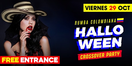 Halloween Colombiano @ Carbon Lounge • Free guest list tickets