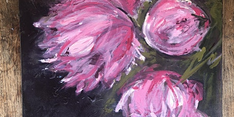 Rose & Renoir   - We paint PEONIES -  2 adults for the price of 1-SPECIAL tickets