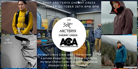 Shop Arc'teryx Cherry Creek - Private Event for ACA Paid Members tickets
