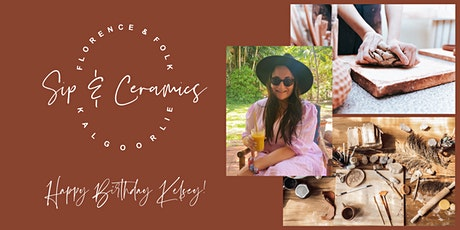 Sip & Ceramics - Private Event for Kelsey Turner tickets