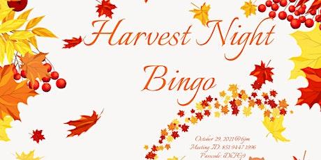 Harvest Night Bingo tickets