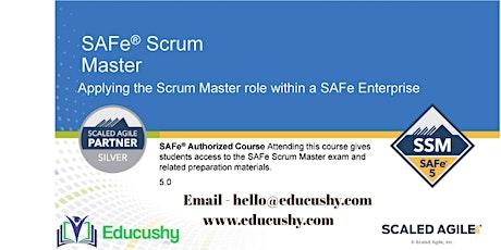 Certified SAFe® 5 Scrum Master (SSM) tickets