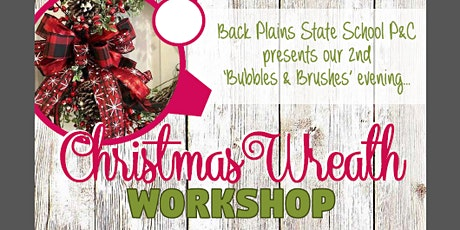 Bubbles and Brushes Ladies Christmas Craft Night tickets