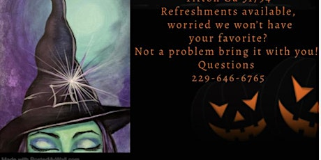 Paint Party Witchy Woman tickets