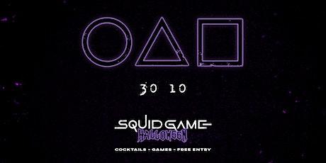 Squid Games Halloween tickets