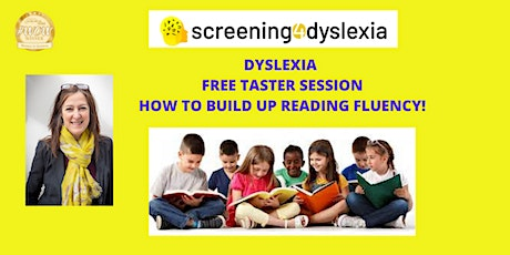 Dyslexia - FREE Taster Session. Strategies to support reading fluency tickets