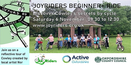 Beginner+ ride: Discover Cowley's Secrets by Cycle tickets