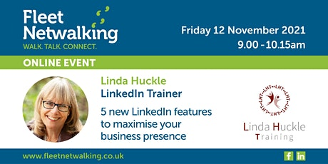 5 new features in LinkedIn to maximise your business presence tickets