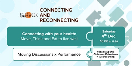 Connecting with your health: Move, Think and Eat to live well tickets