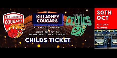 Presidents Cup Killarney Cougars v Limerick Celtics tickets