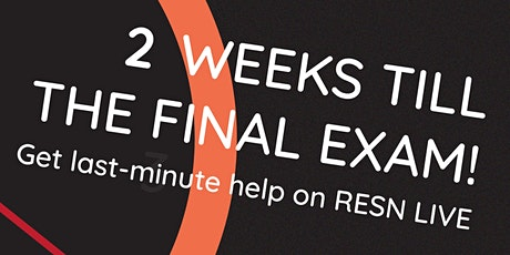 RESN Live: VCE x HSC Exam Revision Edition (Saturday Session) tickets
