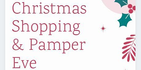 Christmas Shopping & Pamper Evening - Fundraiser for Gorgeous George tickets