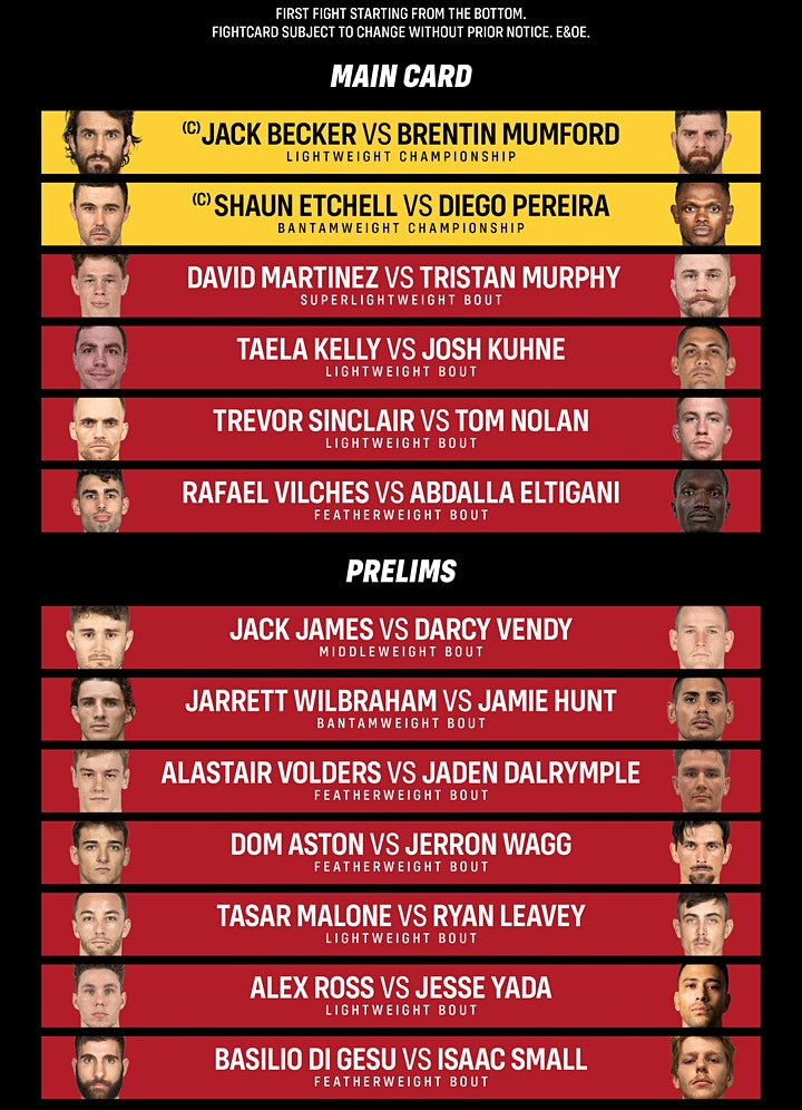 ETERNAL MMA 63 image