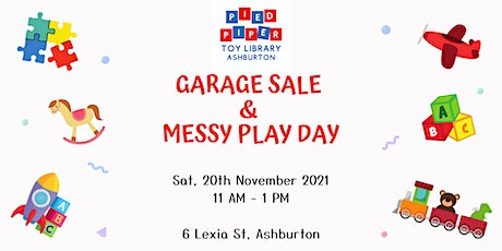 PPTL Garage Sale & Messy Play Day tickets