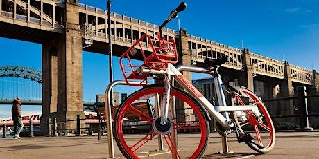Exploring Brisbane's network of bike paths in orange tickets