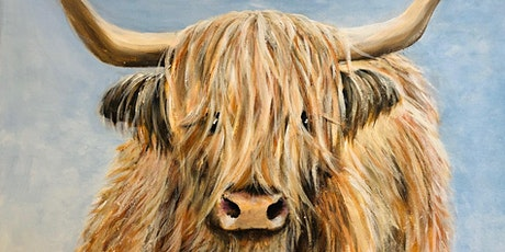 Highland Cow Painting Workshop tickets