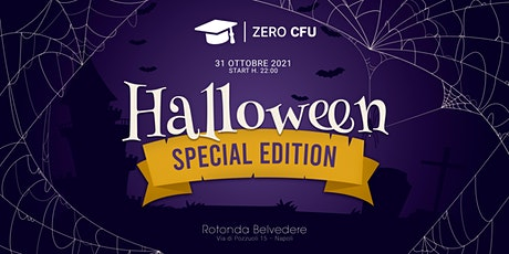 ZERO CFU: HALLOWEEN EDITION biglietti