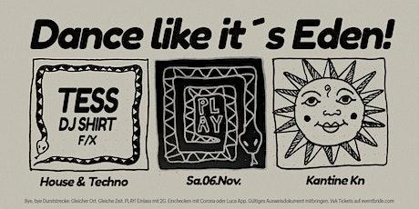 """PLAY """"Eden"""" Tickets"""