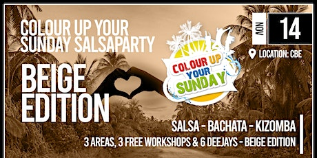 Colour Up Beige Edition Tickets