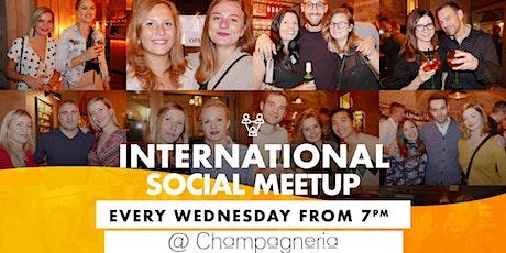 International Social Meetup biglietti